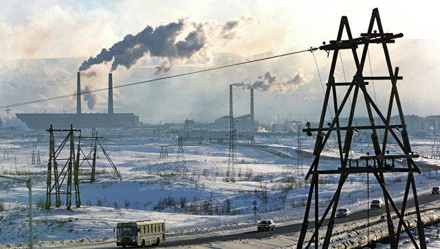 Промышленная зона. Архивное фото