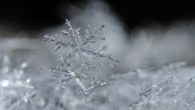 Снежинка. Архивное фото