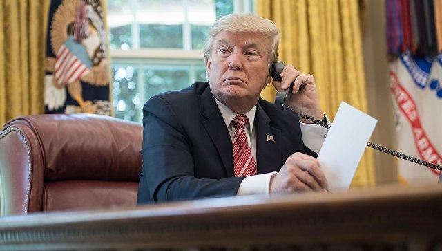 Трамп поговорил с Путиным по телефону