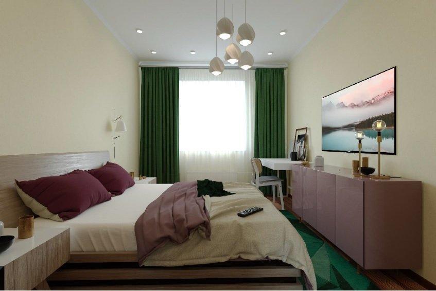 Спальня в ЖК Столичный