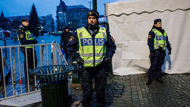 Полицейские в шведском городе Мальме. Архивное фото