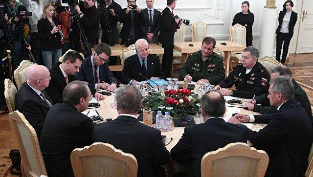 МИД Казахстана: Участники переговоров поСирии начали собираться вАстане