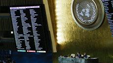 Результаты голосования в Генеральной Ассамблее ООН по вопросу Иерусалима. 21 декабря 2017 год