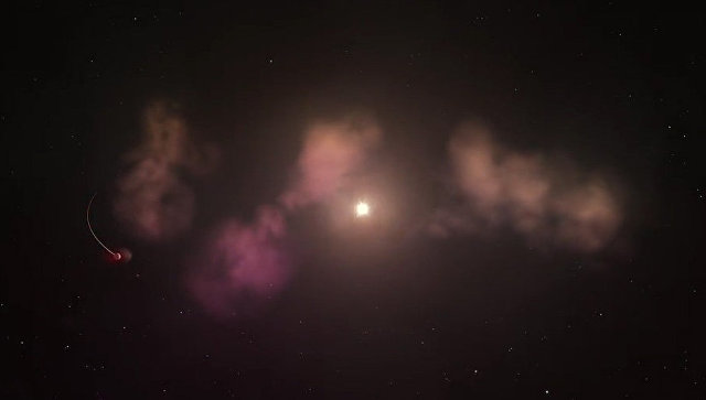 Астрономы открыли новорожденную звезду, съевшую несколько планет