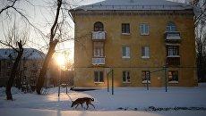 Калининский район Новосибирска. архивное фото