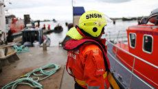 Спасатель SNSM, Франция. Архивное фото