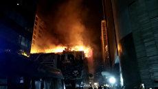Крупный пожар в торговом центре в Мумбаи