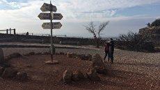 Вид на Сирию с Голанских высот. Архивное фото