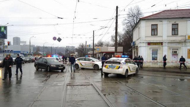 В Харькове неизвестный захватил заложников в отделении почты