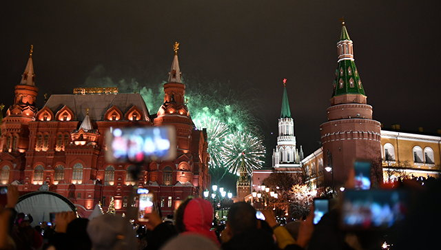 Праздничные гуляния в столице посетили неменее 10 млн человек