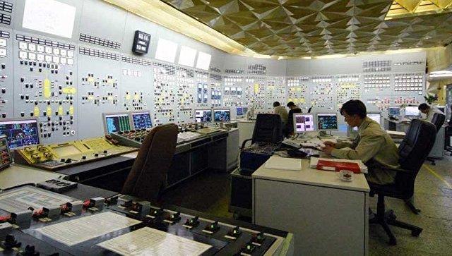 Блочный щит управления второго энергоблока Хмельницкой атомной электростанции
