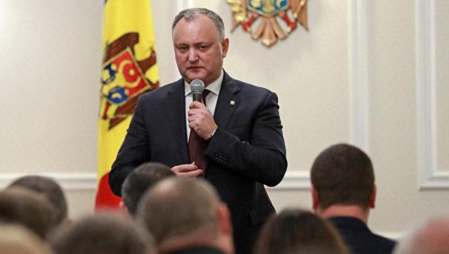 Додон обратился в КС из-за закона о запрете российских новостных программ