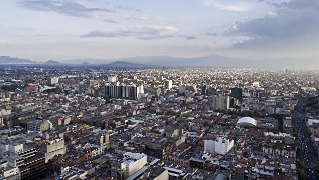Вид, Мексика. Архивное фото