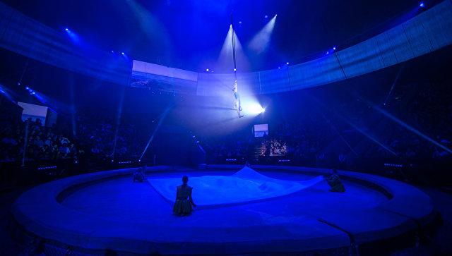В цирке Запашного рассказали о состоянии упавшего на арену акробата