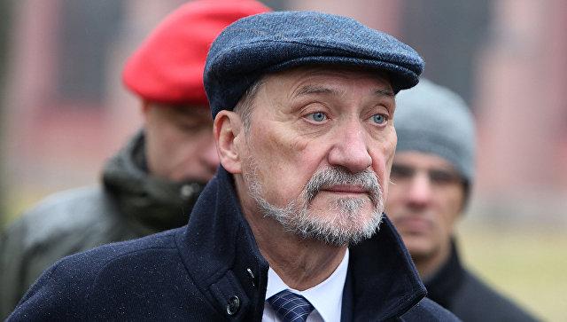 Экс-министр обороны Польши Антоний Мачеревич. Архивное фото