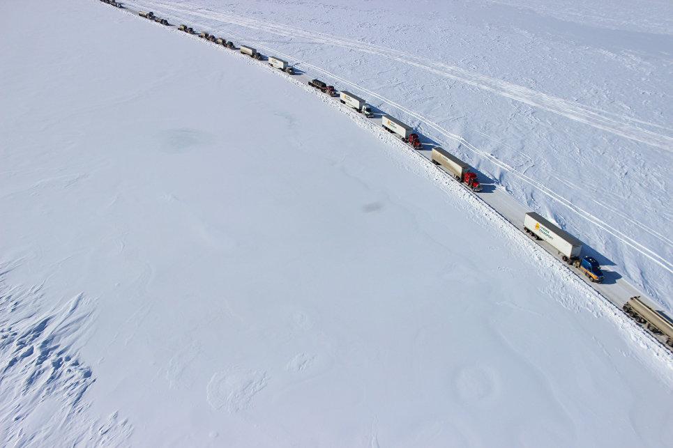 Dalton Highway на Аляске