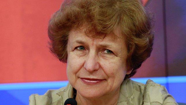 Депутат Европейского парламента от партии Русский союз Латвии Татьяна Жданок. Архивное фото