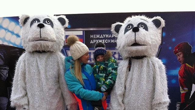 Российские хоккеисты победили соперников из Китая в играх на льду Амура