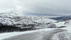 Дорога зимой. Архивное фото
