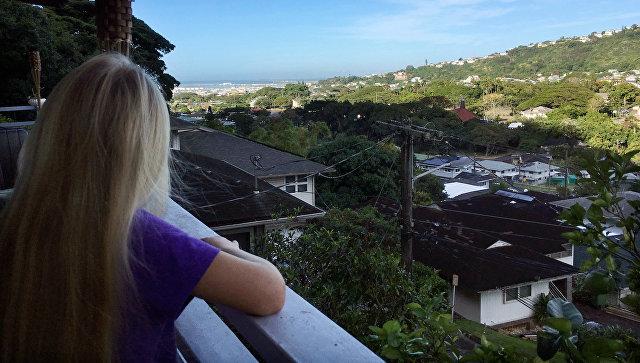 Вид на Гонолулу. 13 января 2018