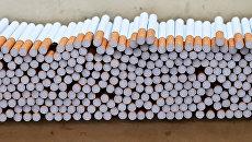 Цех производства сигарет. Архивное фото
