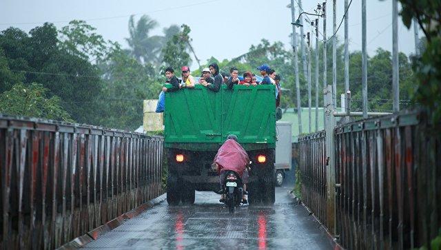 На Филиппинах 13 человек погибли при наводнении