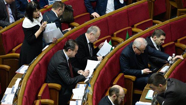 В Раде запросили данные о числе погибших в Донбассе россиян