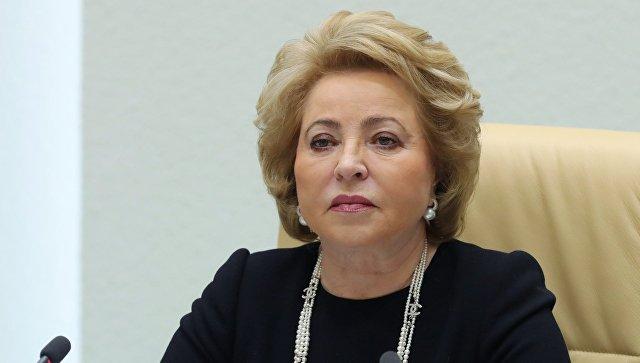 Матвиенко заявила, что Киев хочет вернуть Донбасс силой