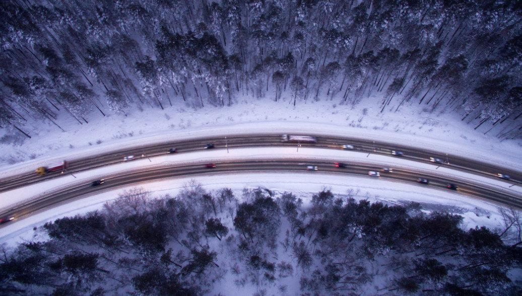 Автомобильное шоссе. Архивное фото