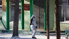 Здание школы №5 в микрорайоне Сосновый бор города Улан-Удэ, где произошло нападение