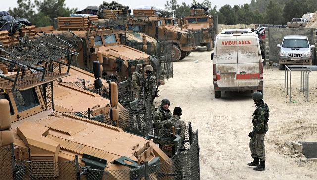 Турецкие военные в Африне. 23 января 2018. Архивное фото