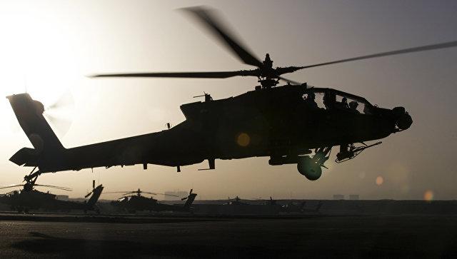 Вертолет ВВС США. Архивное фото