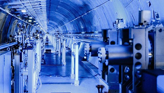 Европейский лазер на свободных электронах XFEL