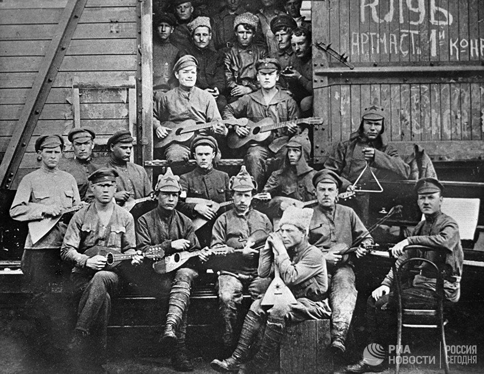 Оркестр клуба артиллерийских мастерских 1-й Конной армии
