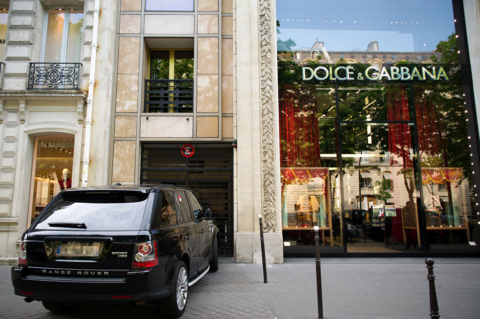 Dolce&Gabbana в Париже