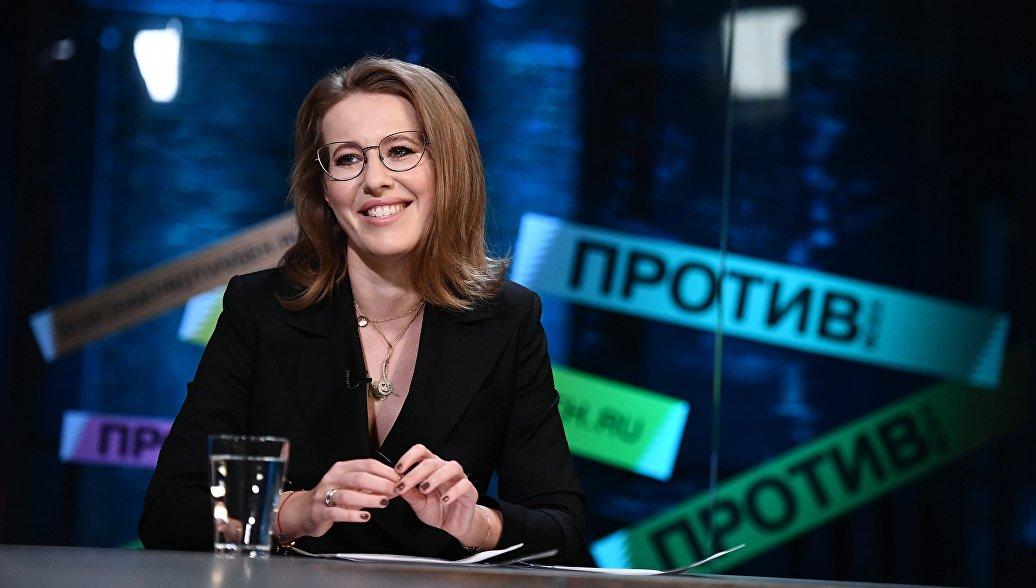 Телеведущая, кандидат на президентских выборах. Архивное фото