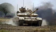 Танк Т-90 индийской армии. Архивное фото