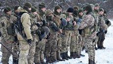 Военнослужащие ВСУ на линии разграничения в Донбассе. Архивное фото