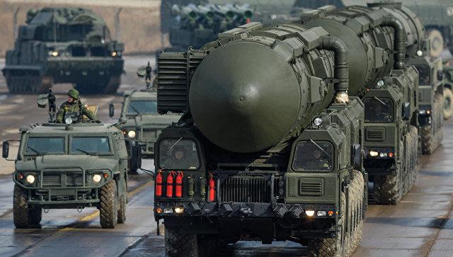 Транспортно-пусковая установка межконтинентальных баллистических ракет Тополь-М
