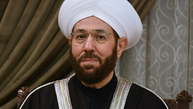 Верховный муфтий Сирии Ахмад Бадреддин Хассун. Архивное фото