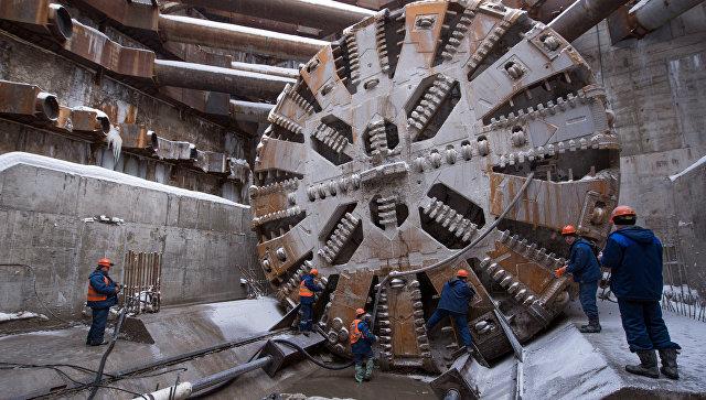В Москве за три года построят около 50 станций метро
