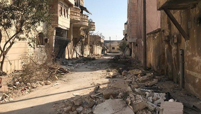 Ситуация в Африне. Архивное фото