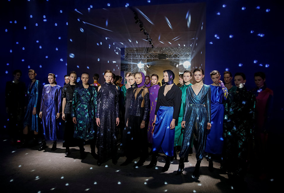 Показ коллекции Lilia Poustovit на Неделе моды в Киеве