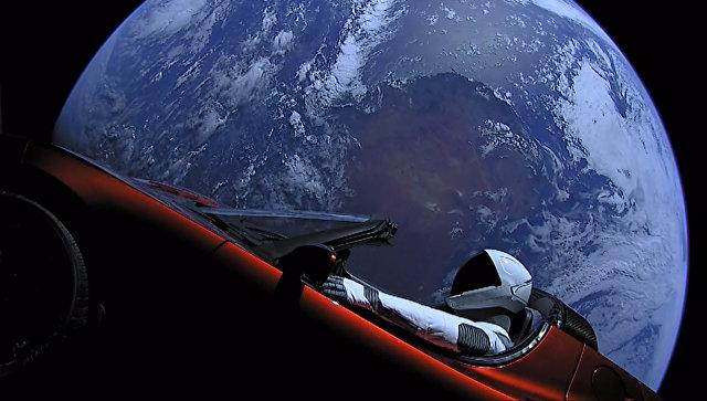 Астрономы оценили шансы падения спорткара Маска на Землю