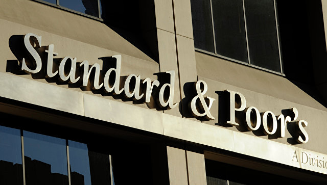 Здание штаб-квартиры рейтингового агентства Standard & Poors в Нью-Йорке, США