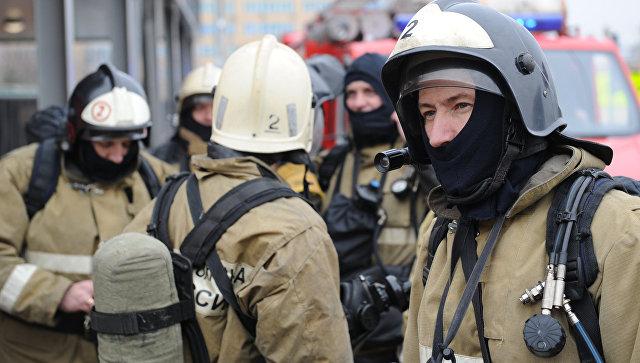 В здании ГСУ СК по Московской области произошел пожар