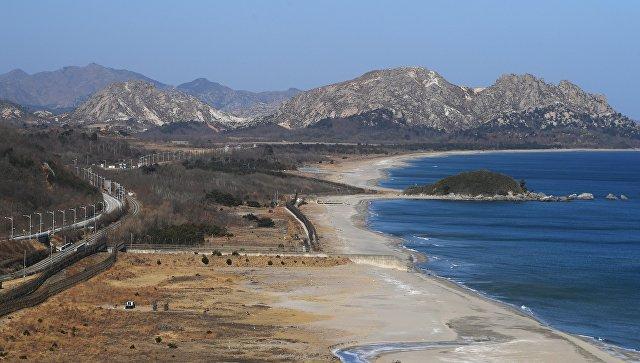 Корейская демилитаризованная зона. Архивное