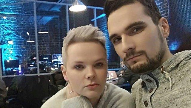 Юлия Савиновских с мужем