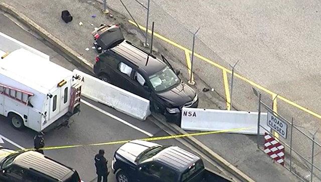 У штаб-квартиры Агентства нацбезопасности США произошла стрельба