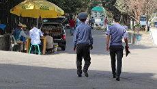 Сотрудники правоохранительных органов Таджикистана. Архивное фото